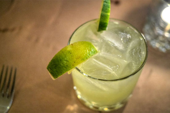 Spiced Cucumber Margarita