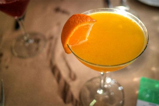 Troy's Tangerine Martini