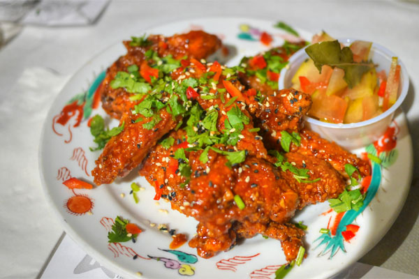 TANG-AY KOREAN PEPPER PASTE DBL-FRIED CHIX WAAANGS