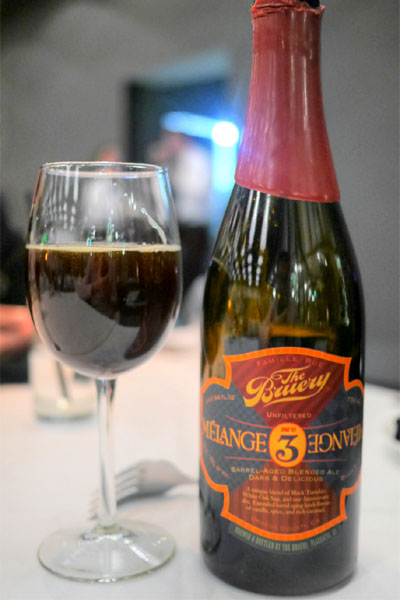 2012 The Bruery Melange No. 3