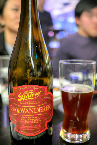 2013 The Bruery The Wanderer