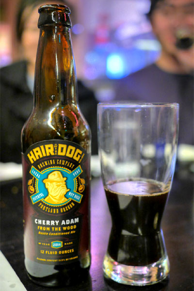 2014 Hair of the Dog Cherry Adam From The Wood