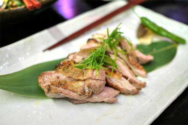 Free Range Chicken Thigh with Yuzu Kosho Pepper