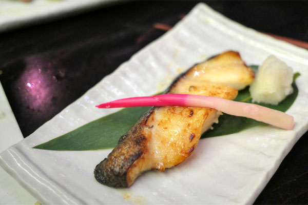Wild Black Cod with Saikyo Miso
