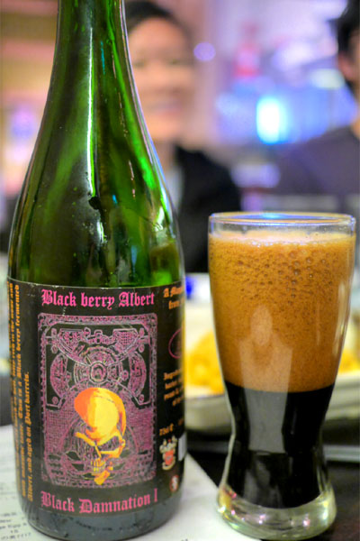 2013 De Struise Black Damnation I - Black Berry Albert