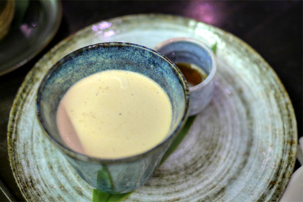 Hojicha (Roasted Green Tea) Panna Cotta