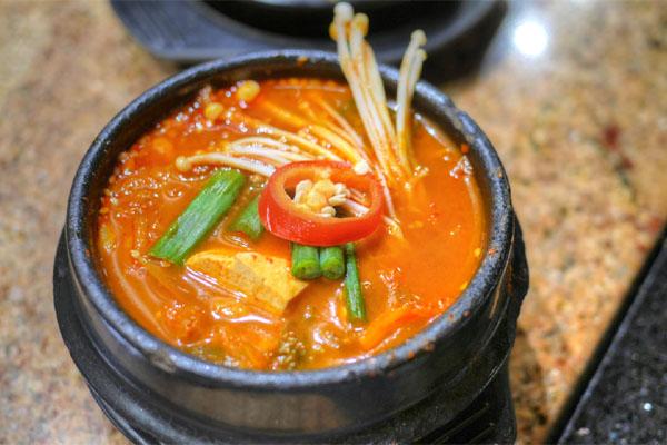 Kimchee Jigae