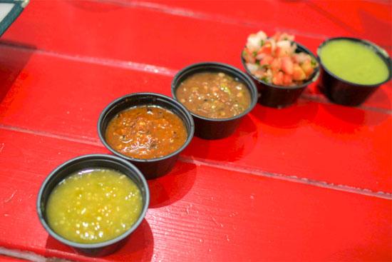 Mexicali Taco Salsas