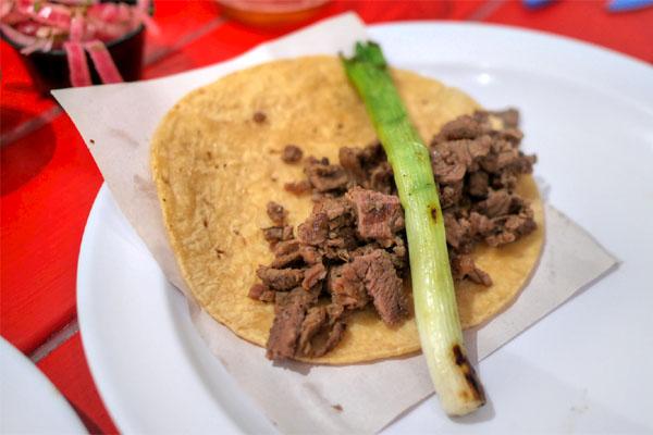 Mexicali Taco (Carne Asada)