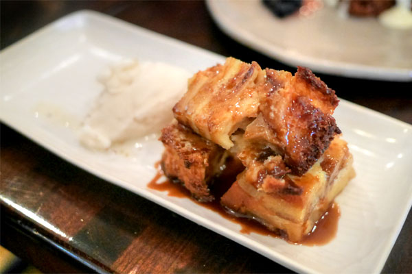 HONEYCRISP APPLE BREAD PUDDING