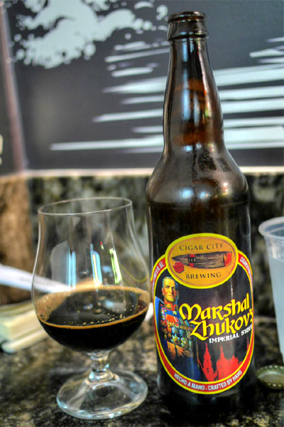 2014 Cigar City Marshal Zhukov's Imperial Stout
