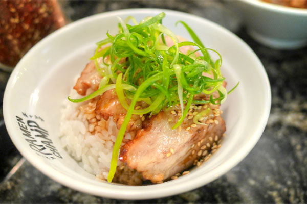 Chashu Rice Bowl