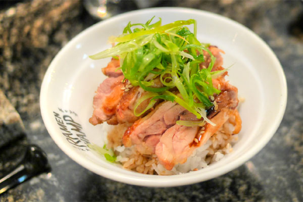 Chicken Belly Rice Bowl