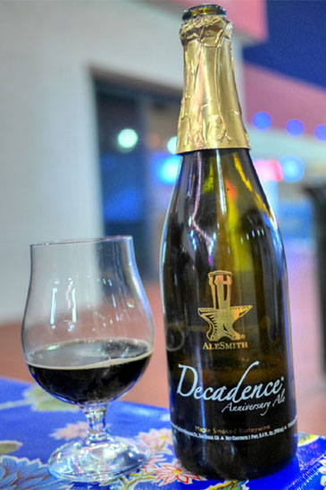 2011 AleSmith Decadence Maple Smoked Barleywine