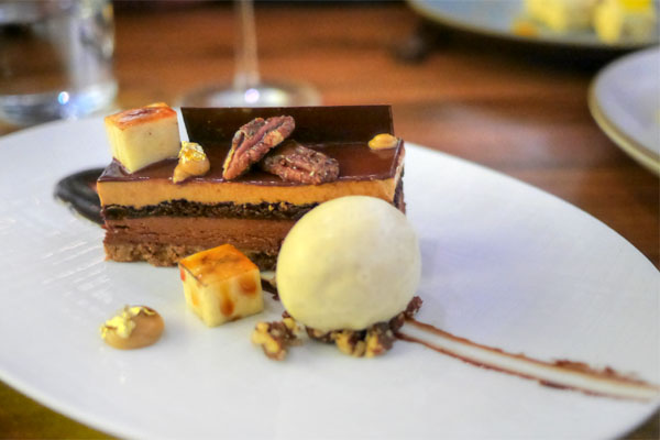 Chocolate Caramel Bar