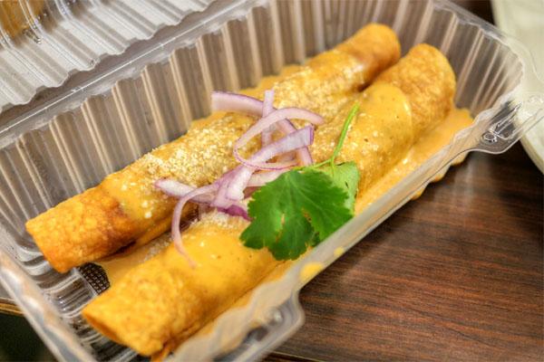 Shrimp Flautas