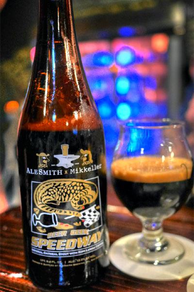 2015 AleSmith Beer Geek Speedway