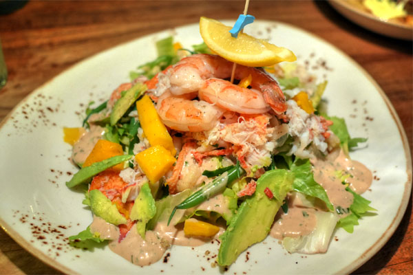 Seafood Louis Salad