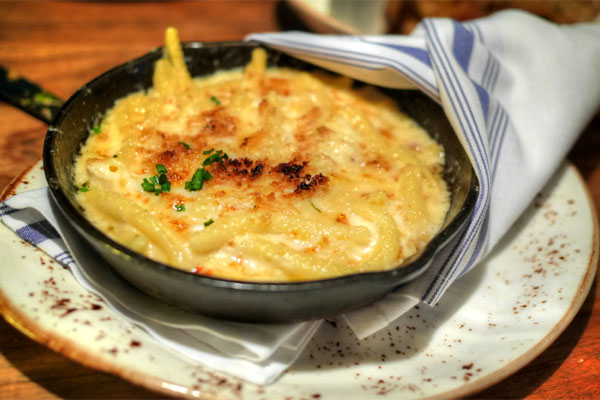 Dungeness Crab Mac n Cheese
