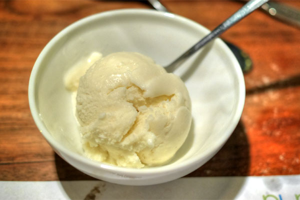 Pineapple-Coconut Ice Cream