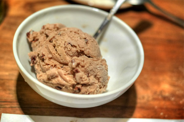 Chocolate Malted Crunch Ice Cream