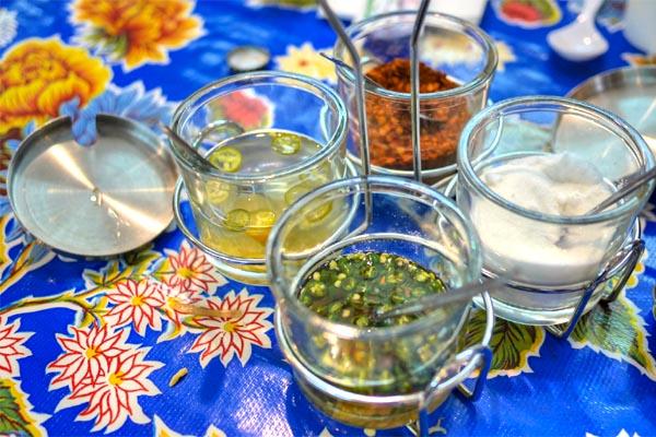 Pok Pok Phat Thai Condiments