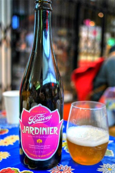 2015 The Bruery Jardinier