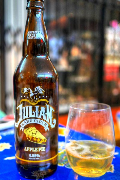 Julian Hard Cider Apple Pie