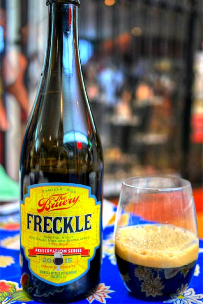 2015 The Bruery Freckle