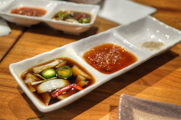 Korean BBQ Dipping Sauces