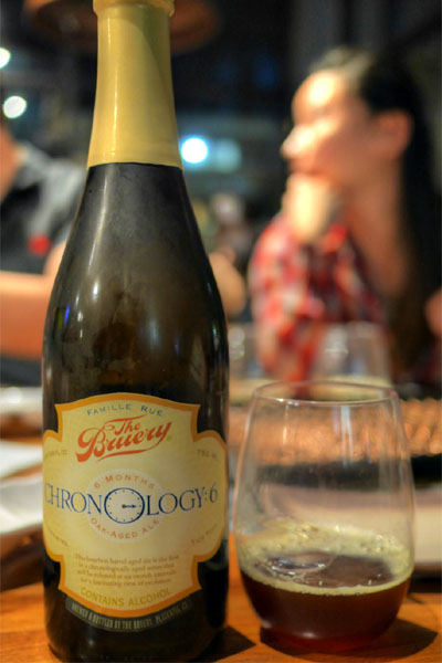 2014 The Bruery Chronology:6