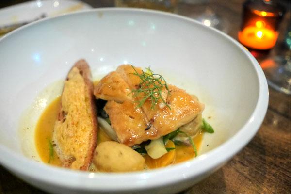 Bouillabaisse de poisson de Roche, Légumes aioli