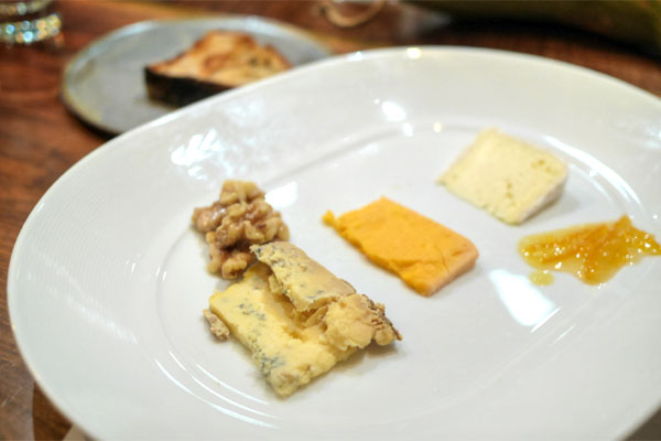 chef's selection of cheeses
