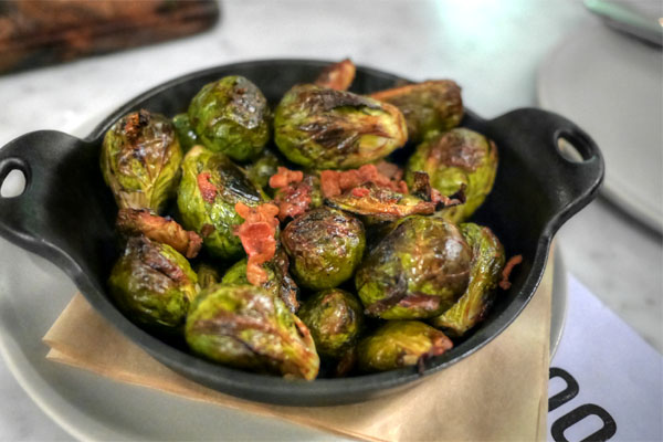 brussels sprouts with smoked bacon