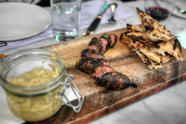 artisan sausage plank
