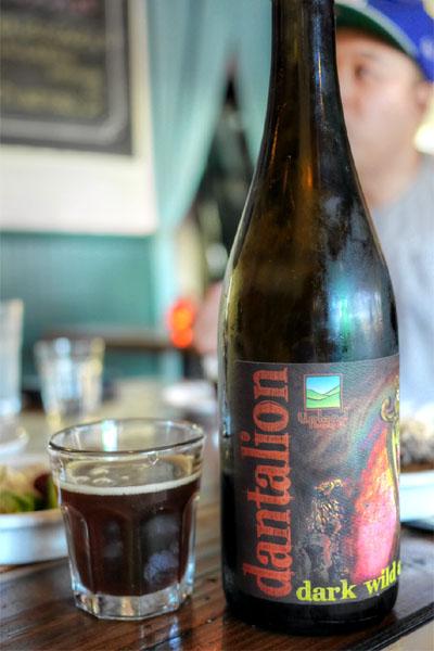 2015 Upland Dantalion Dark Wild Ale