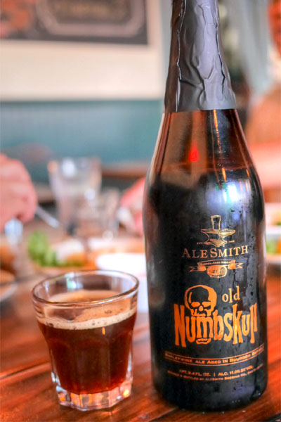 2013 AleSmith Barrel Aged Old Numbskull