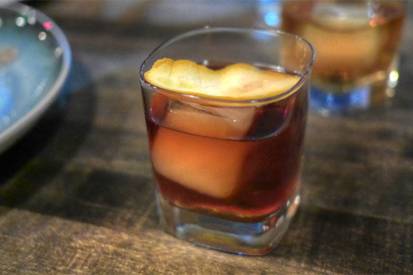 Barrel Aged Bourbon Manhattan