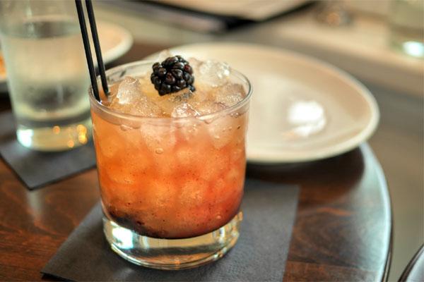 Blackberry Honey Sour