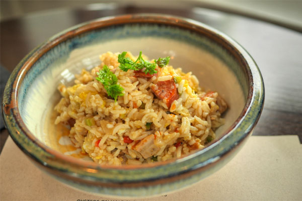 Gumbo Fried Rice