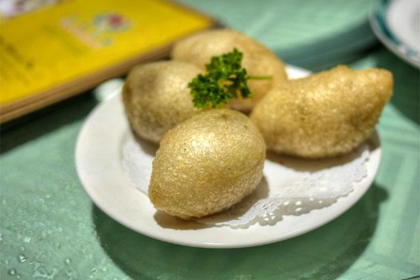 Deep Fried Pork Dumpling