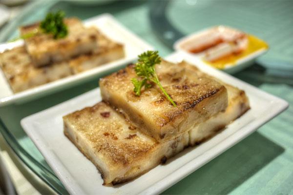 Pan-Fried Dikon Cake