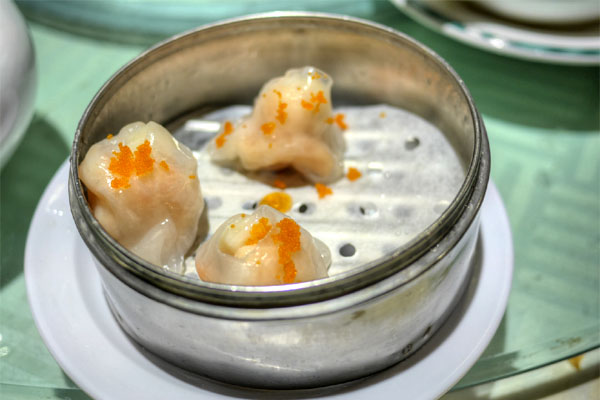Steamed Shrimp & Scallop Dumpling