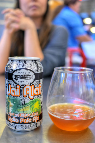 2015 Cigar City White Oak Jai Alai