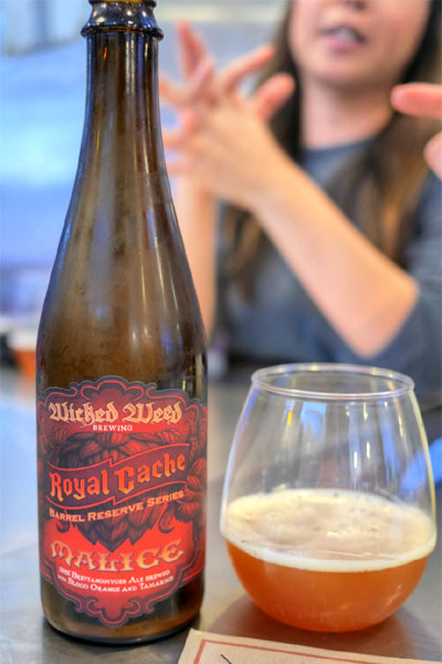 2014 Wicked Weed Malice Wild Ale