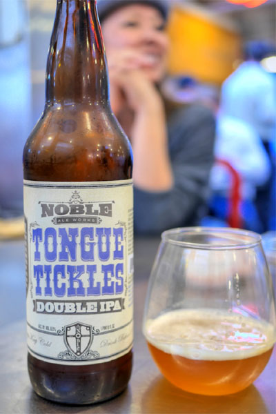 2015 Noble Ale Works Tongue Tickles