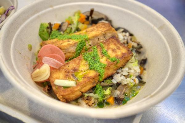 Seared Tofu