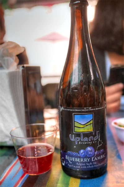 2015 Upland Blueberry Lambic