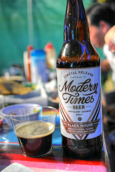 2015 Modern Times Black House with Coconut and Cacao Nibs