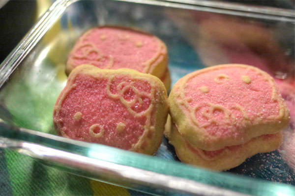 Hello Kitty Shortbread Cookies
